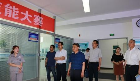 學院黨委書記、院長趙明一行到天津職業大學學訪交流